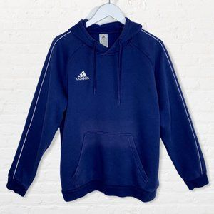Adidas Spellout Navy Blue Hoodie